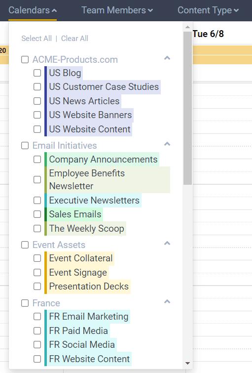 DivvyHQ's multi-calendar architecture