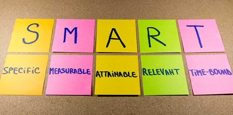 SMART content marketing goals