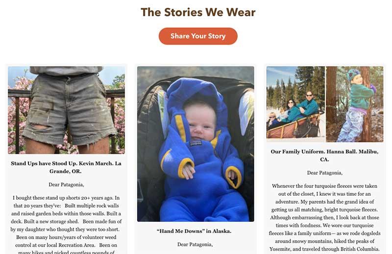 Patagonia Customer Stories