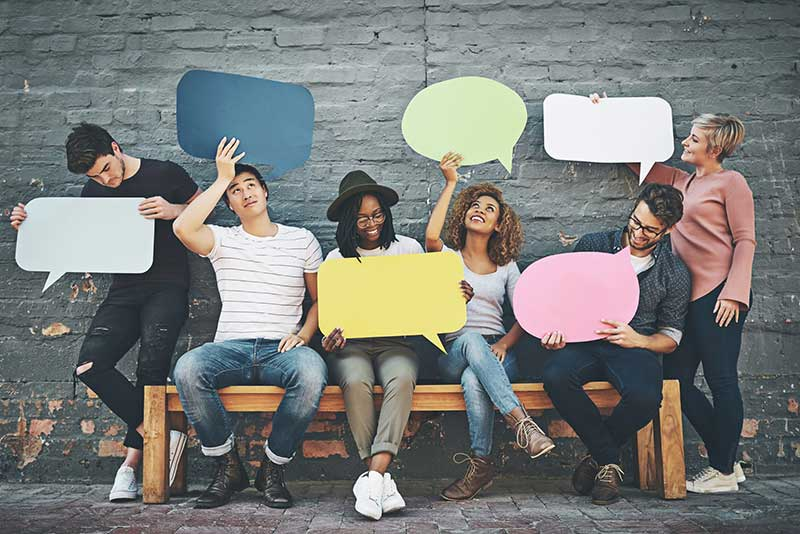 improve brand trust - communicate with your audience