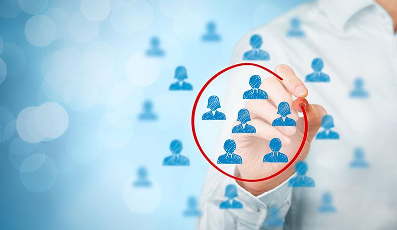 personalized content - audience segmentation