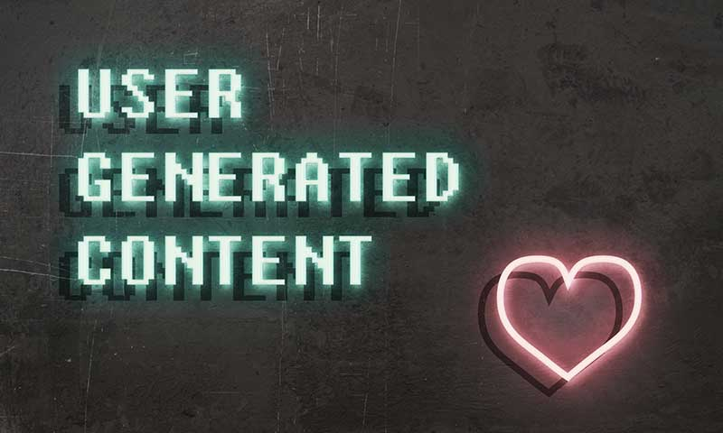 user-generated content marketing - love
