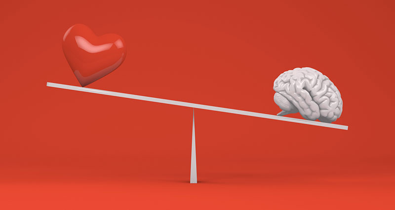 business storytelling - heart vs. mind